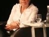 Mediação de debate no Fórum das Letras - edição 2009. Foto: Lincoln Zabrietti.